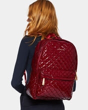 Cranberry Lacquer Metro Backpack
