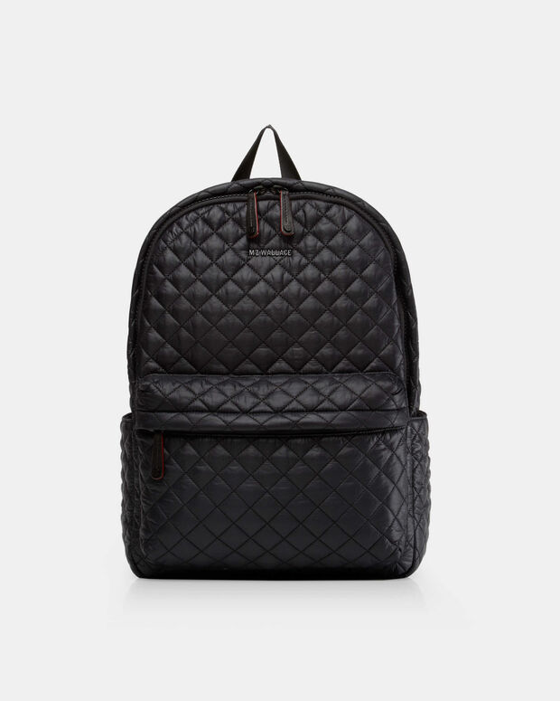 bc86bc36908438 MZ Wallace Quilted Black Oxford Metro Backpack | MZ Wallace