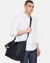 Large Sutton - Black Quilted  Oxford Nylon (2890108)