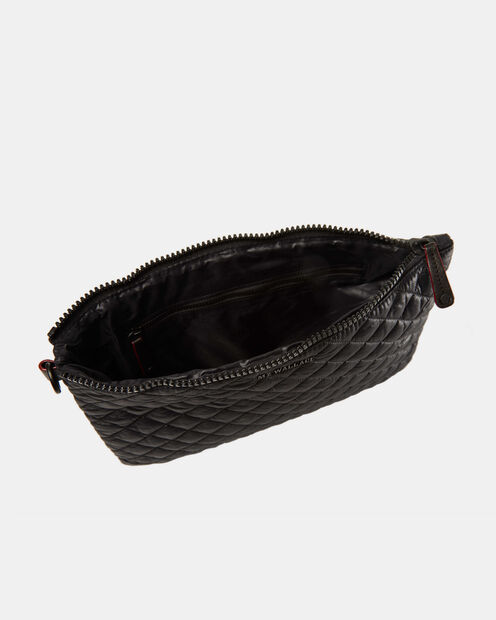 Metro Pouch - Black Quilted Oxford (6260108) in color Black