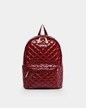 Cranberry Lacquer Small Metro Backpack