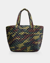 Green Camo Large Metro Tote