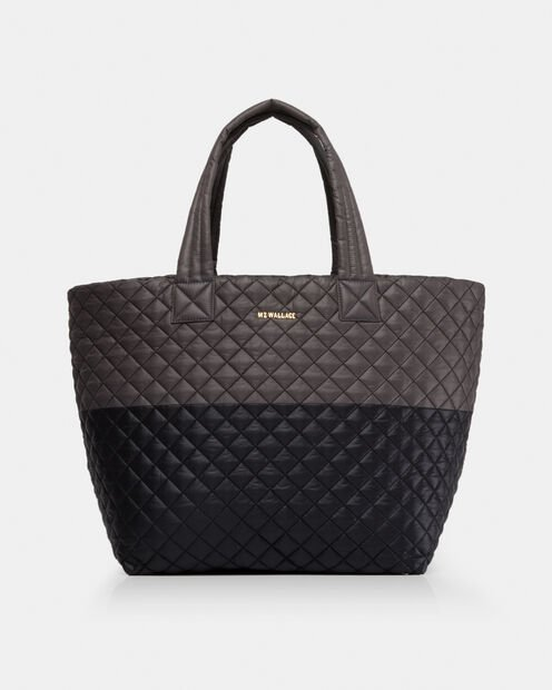 Large Metro Tote in color Black & Magnet