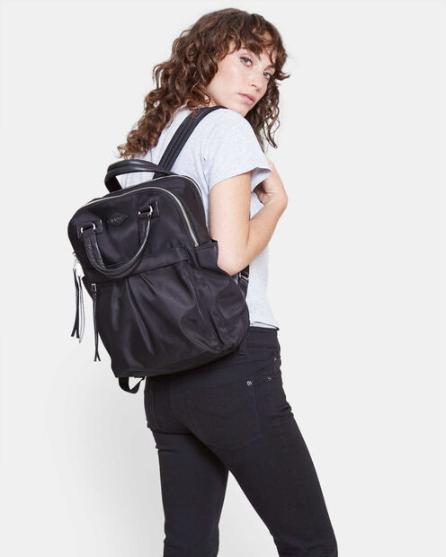 Black Bedford Moto Jordan Backpack (4530067) in color Black