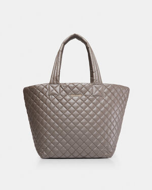 Sable Metallic Medium Metro Tote (3761512)