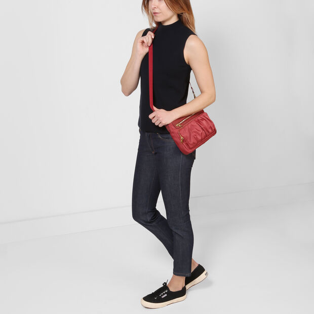Dahlia Bedford Abbey Crossbody (6031380) in color Dahlia