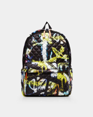 Graffiti Print Metro Backpack (7661528)
