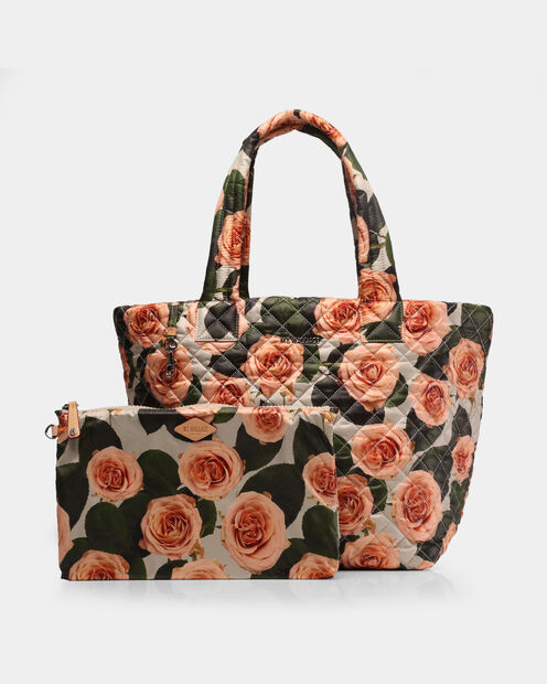 Peach Rose Oxford Medium Metro Tote (3761386) in color Peach Rose
