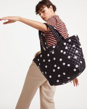 Polka Dot Print MZ Wallace x T-Toughcookie Medium Metro Tote