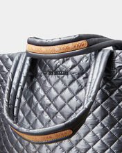 Asphalt Metallic MZ Wallace x SoulCycle Medium Metro Tote