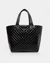 Black Lacquer Large Metro Tote