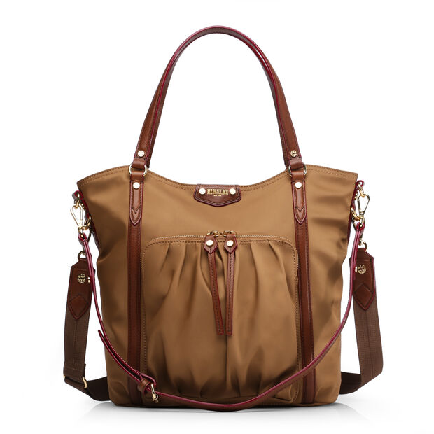 Nikki Tote in color Caramel