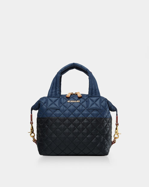 Small Sutton in color Black & Navy