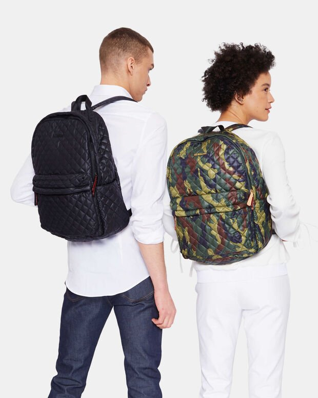 Black Oxford Metro Backpack (7660108)