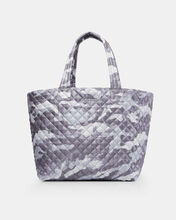 Light Grey Camo Large Metro Tote