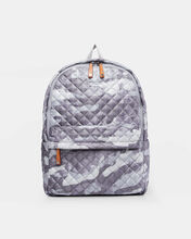 Light Grey Camo Metro Backpack