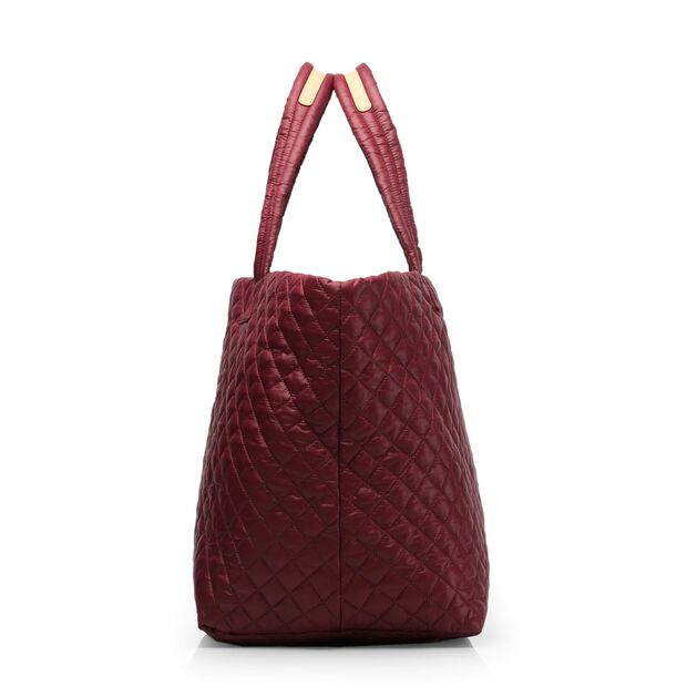 Large Metro Tote - Maroon Quilted Oxford (3711315) in color Maroon