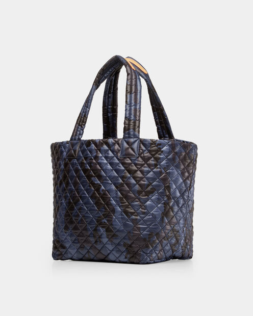 Medium Metro Tote - Dark Blue Camo Oxford (3761311) in color Dark Blue Camo