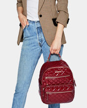 Cranberry Lacquer Small Crosby Backpack