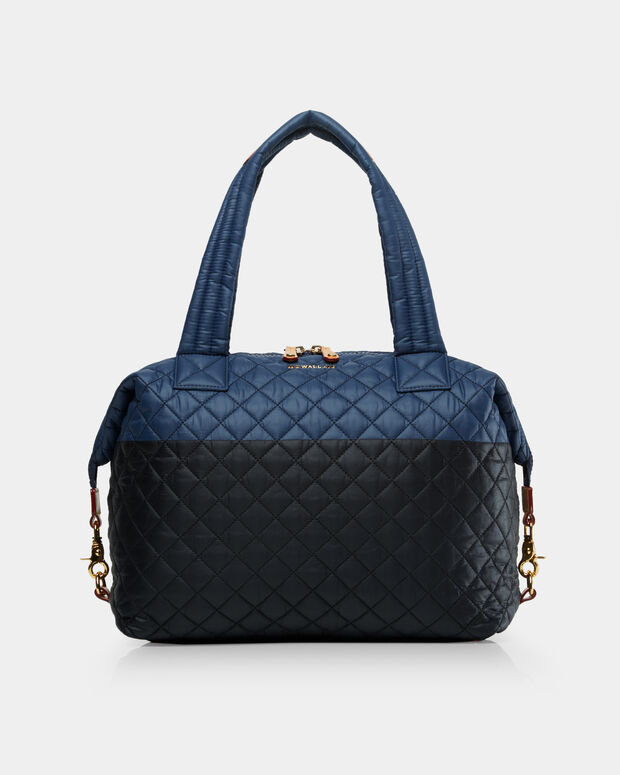 Large Sutton - Black and Navy Color-Block (2890406)