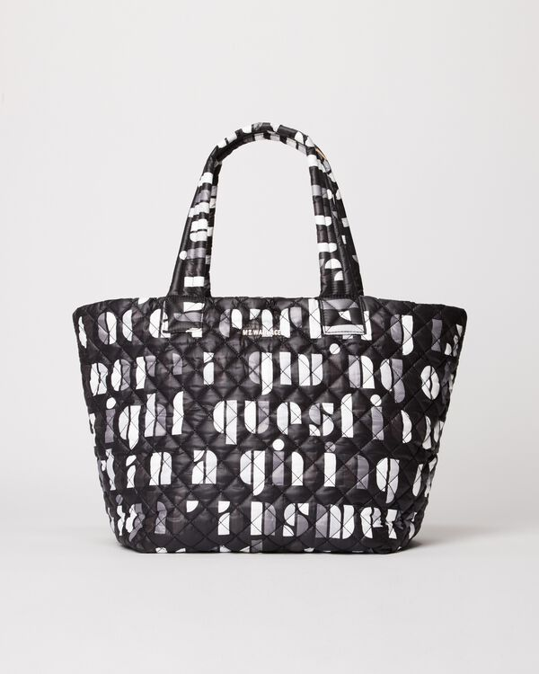 Bauhaus Letter MZ Wallace x Albers Foundation Medium Metro Tote