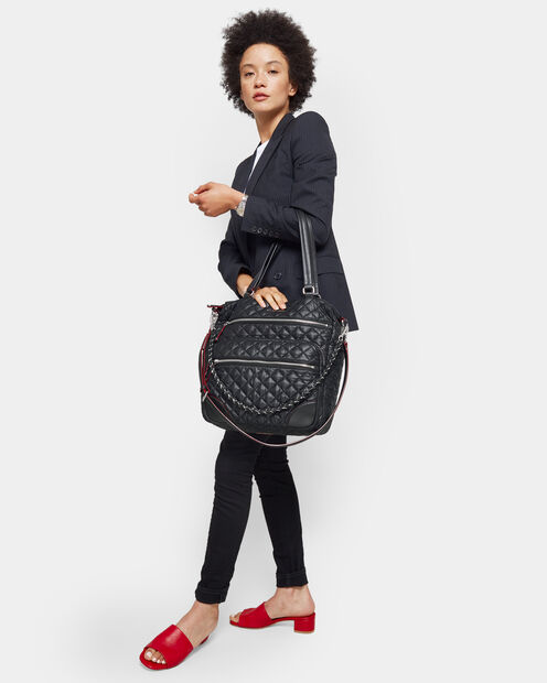 Black Oxford Crosby Tote (10490108) in color Black