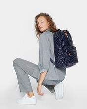 Dawn Lacquer Metro Backpack