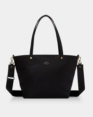 Black with Gold Hardware Soho Tote (11100089)