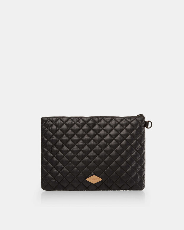 Metro Pouch - Black Quilted Oxford (6260108)