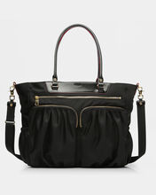 Large Abbey Tote - Black Bedford (5900089)