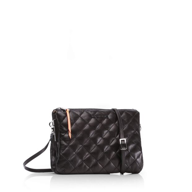 Pippa - Black Quilted Leather (8001153) in color Black Leather