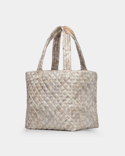 Basket Weave Oxford Medium Metro Tote (3761374) in color Basket Weave