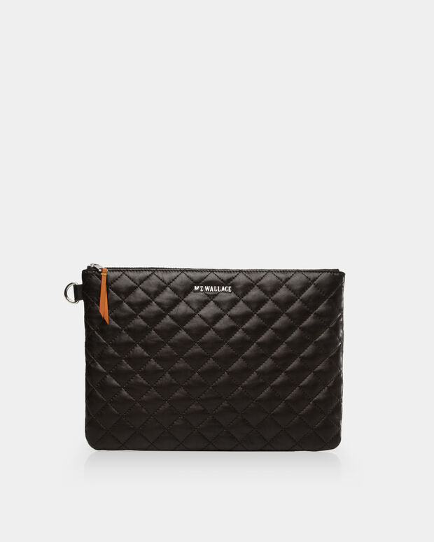 Metro Pouch - Black Quilted Leather (5351153)