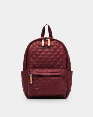 Maroon Oxford Small Metro Backpack (5841315)
