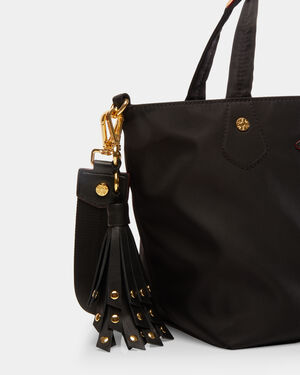Black Leather Myla Tassel (11620089)
