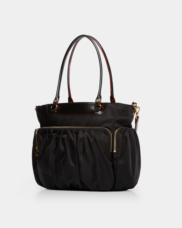 Abbey Tote - Black Bedford (5910089)