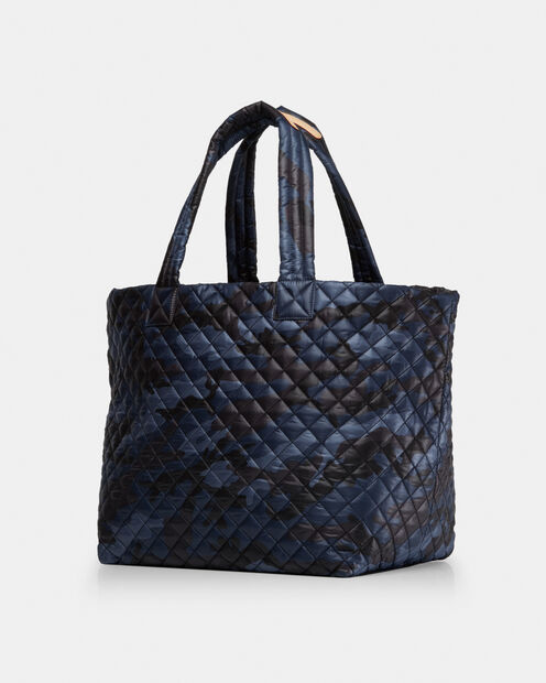 Large Metro Tote - Dark Blue Camo Oxford (3711311) in color Dark Blue Camo