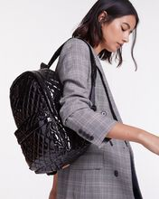 Black Lacquer City Backpack