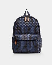 Dark Blue Camo Metro Backpack