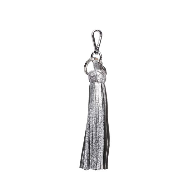 Braided Tassel in color Silver
