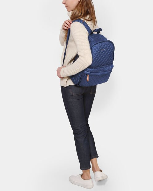 Estate Blue Oxford Medium Metro Backpack (7661371) in color Estate Blue