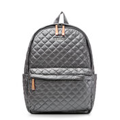 Steel Metallic Medium Metro Backpack (7661027)