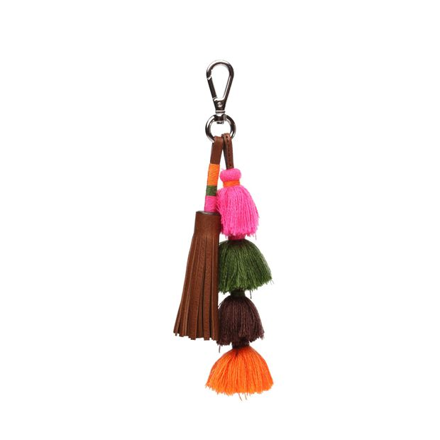 Pom Pom Charm in color Brown