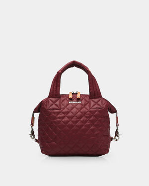 Small Sutton - Maroon Quilted Oxford (2881315)