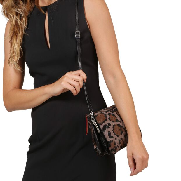 Pippa - Brown/Black Leather (8001357) in color Brown & Black