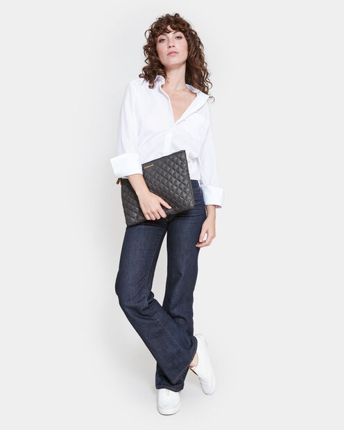 Metro Pouch - Magnet Quilted Oxford (6260404) in color Magnet