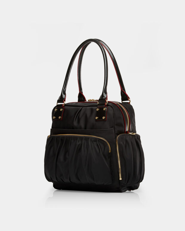 Frankie Travel Bag - Black Bedford (3030089)