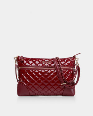 Cranberry Lacquer Medium Crosby Crossbody (10071510)
