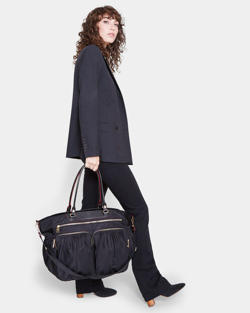 Large Abbey Tote - Black Bedford (5900089) in color Black