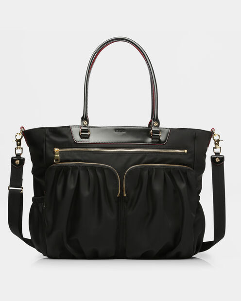 Large Abbey Tote in color Black